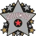 Cutout Hollywood Star - 1