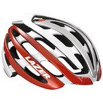 LAZER【レーザー】 Z1 ヘルメット (ホワイト/レッド, L)
