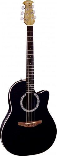 Ovation Cc057 Celebrity Acoustic Electric Guitar (Black)
