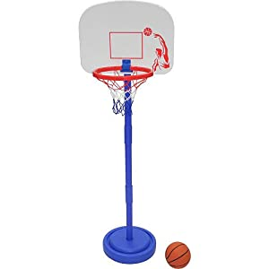 Amazon Com Stats Adjustable Child S Basketball Set Toys