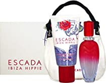 Hot Sale Escada Ibiza Hippie by Escada for Women 3 Piece Set Includes: 1.7 oz Eau de Toilette Spray + 5.1 oz Perfumed Body Lotion + Handbag