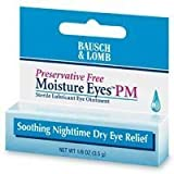 Bausch And Lomb Eye Drops Bausch And Lomb Moisture Eyes Soothing Nighttime Dry Eye Relief, Preservative Free - 0.12 Oz (3.5 Gm)