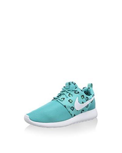 Nike Sneaker Roshe Print türkis/weiß EU 38 (US 7)