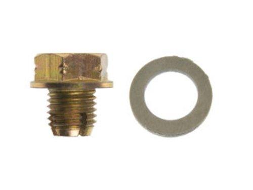 Dorman 090-174 Oversize Oil Drain Plug - M12-1.50 S.O., Head Size 17mm, Pack of 5