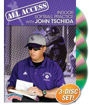 John Tschida: All Access Indoor Softball Practice with John Tschida (DVD) by Championship Productions