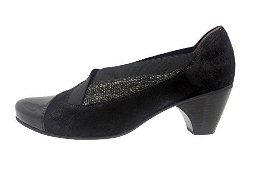 Scarpe donna comfort pelle Piesanto 7409 casual comfort larghezza speciale