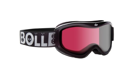 Bolle Volt Snow Goggles (Vermillon Lens/Black