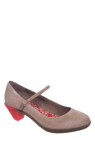 Camper Agatha 21847-017 Low Heel Ankle Strap Shoe