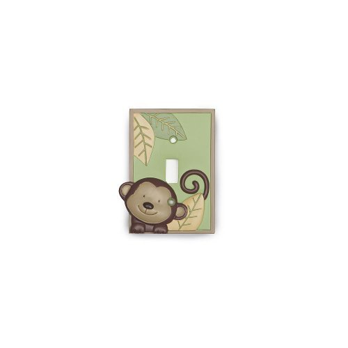 Koala Baby Monkey Switch Plate Cover - 1