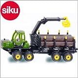 Siku(ジク)社 輸入ミニカー 1649 ジョンディア 材木運搬車