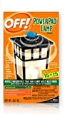 Johnson S C Inc 14157 Off PowerPad Mosquito Repellent Lamp