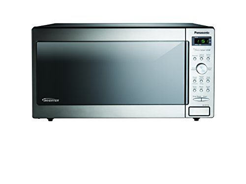 Panasonic NN-SD772SAZ Stainless 1.6 Cu. Ft. Countertop/Built-In Microwave with Inverter Technology (Microwaves Countertop Panasonic compare prices)