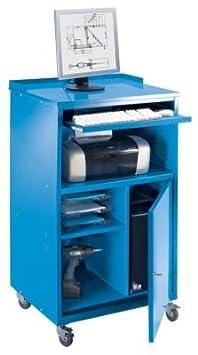 QUIPO Pupitre pour ordinateur, mobile - h x l x p 1170 x 690 x 590 mm gris clair RAL 7035 - armoire pour ordinateur armoires pour ordinateur pupitre pupitre pour ordinateur pupitres pupitres pour ordinateur écritoire écritoires Armoire infor