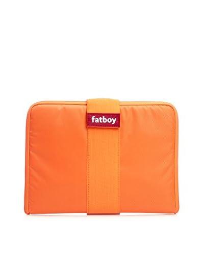 Famous Beanbag Maker Tablet Tuxedo, Orange/Orange