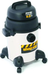 Shop-Vac 9252410 6.5 Hp / 6 Gl. Industrial Super Quiet Wet / Dry Vacuum Cleaner
