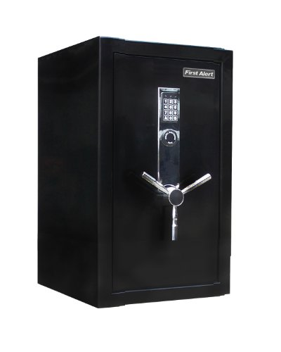 first-alert-2484df-3-cubic-feet-fire-resistant-executive-safe-with-digital-lock-black