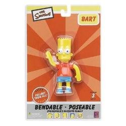 The Simpsons : Bart Simpson 4 inch Bendable Figure - 1