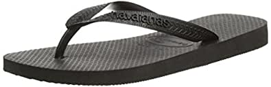 Havaianas Top, Tongs mixte adulte  - noir (Noir) - 37/38 EU (35/36 BR)