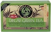 Triple Leaf Tea Decaffeinated Green Tea - 20 Tea Bags (Pack Of 6)