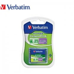 Verbatim 8 GB CompactFlash? Card