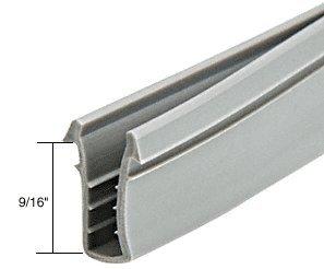 Crl glazing vinyl 9 16 channel depth 11 32 metal for 12 foot roll up door