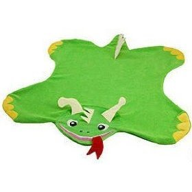 Baby Einstein Plush Character Flat Blanket - Dragon