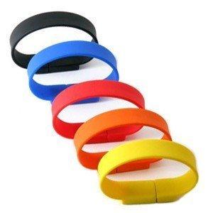 Usb Stick Wristband 2gb Red from ENVI ISLAND
