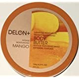 DELON Moisturizing Mango Body Butter 6.9oz/196g ~ Delon