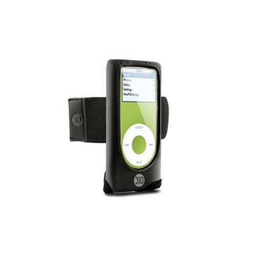 DLO Action Jacket Armband Case for iPod nano 1G, 2G (Black)