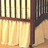 Portable Crib Solid Dust Ruffles - Color
