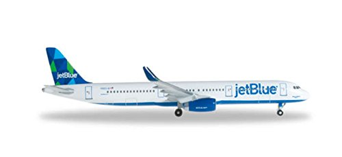 HERPA Jet Blue A321 Prism REG#N903JB Die Cast Aircraft (1/500 Scale) (Jetblue Model compare prices)