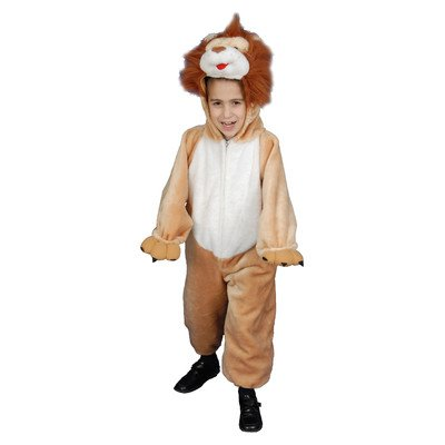 Kids Plush Lion Costume Set