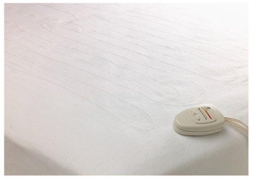 Westpoint Stevens Rest Secure Restwarmer Dual Control Heated Mattress Pad, Queen
