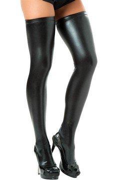 espiral-womens-wet-look-metallic-thigh-highs-one-size-black-by-espiral