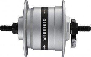 VR-Nabendynamo Shimano DH3N31BSG 100mm, 32 Loch, silber, SNSP 2091610400
