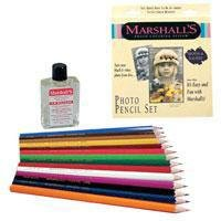 Marshall's Photo Pencil Sets set of 14 deluxe colors
