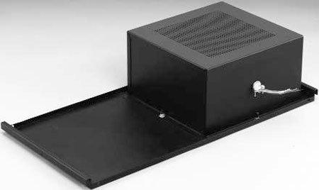 Lowell Smlt810Rs Sound Masking System 15W 8 In. 70V T-Bar Grid Mount 700Cu.In. Volume - Black