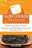 Slow Cooker Gourmet Minnesota Lake Country Chicken and Wild Rice Soup Mix 9 5 Ounce Boxes Pack of 6