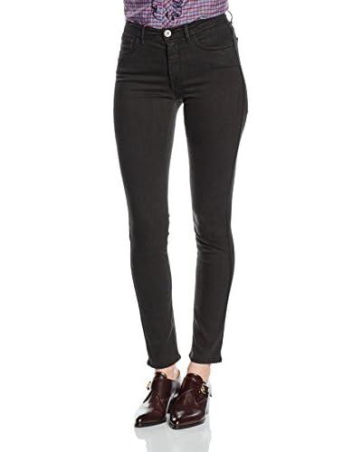 Trussardi Jeans Jeans 105 Bull Powerstretch Dyed Fregio Strass [Blu]