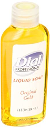 Dial 06059 Gold Liquid Soap, 2 oz, (Case of 48)