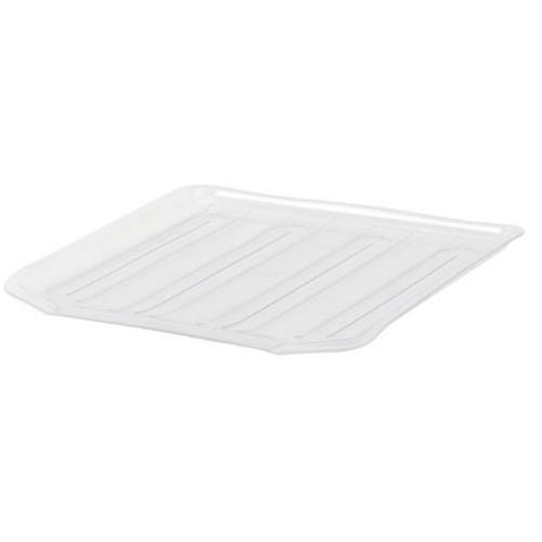 Rubbermaid Large Antimicrobial Drain Board , Clear