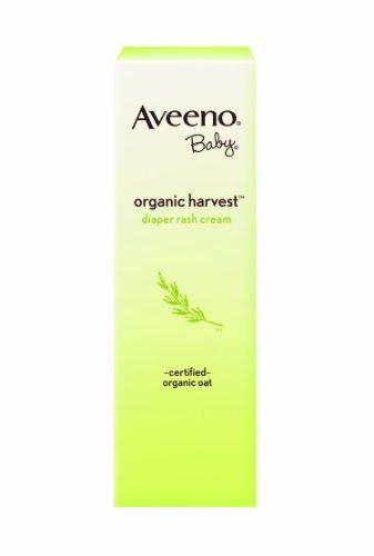 Imagen de Aveeno bebé Organic Harvest Diaper Rash Cream, 3 onzas