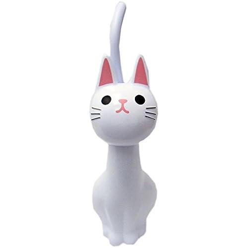 화장실 변기 청소용 솔 고양이 홀더 브러시