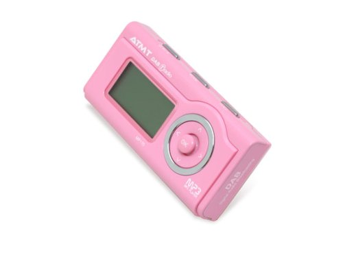 ATMT MP170 - 1GB MP3 Player With DAB Radio - Pink