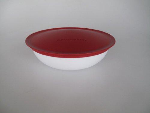 TUPPERWARE C153 Allegra Schüssel 740 ml Chilischote rot