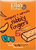 Ellas Kitchen 12 Month Carrots & Mangoes Nibbly Fingers 5 Pack 125g