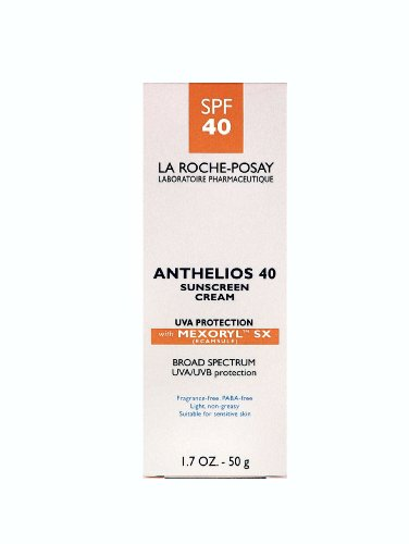 anti aging cream product reviews la roche posay anthelios 40 suncreen cream uva protection with. Black Bedroom Furniture Sets. Home Design Ideas
