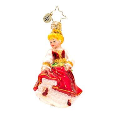 Christopher Radko Dancing Maid Ornament