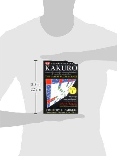 The Official Book of Kakuro: Book 1