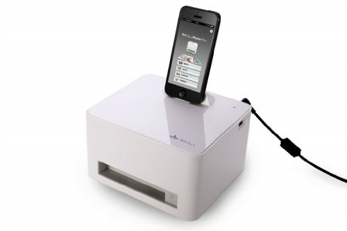Mili Compact Photo Printer For Iphone 6,Iphone 6 Plus,Iphone 5,Iphone 5S,Ipad 4,Ipad Mini And Android Phones